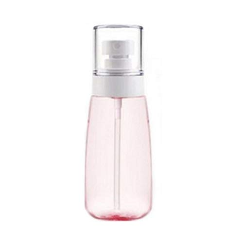 60ML Mist Sprühflasche Feinen Nebel Spray-Flasche Leer Airless Makeup Sprühflasche Klar Nachfüllbare Spielraum-Container Für Kosmetische Hautpflege Lotion Parfums 2 Unzen (Pink) (Klare 2 Unzen-container)