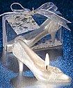 Fairytale shoe wedding favor
