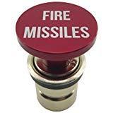 Fire Raketen Button Auto Zigarettenanzünder von Zitadelle schwarz-eloxiert Aluminium, 12Ersatz Zubehör, für die meisten Fahrzeuge, Sockel Größe A