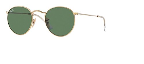 Ray Ban RB3447 001 53M Arista/Crystal Green