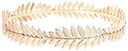 RIVERTREE Griechische Göttin Stirnband Kostüme/Blattgold Haarband Krone/Braut Hochzeit ()