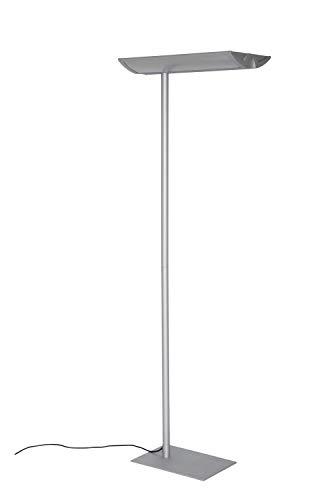 Maul Arbeitsplatz Standleuchte MAULmaioris, Höhe 190 cm, 2x 55 Watt, 2x 4500 Lumen, Silber, 8251895