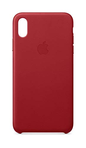 Apple Leder Case (iPhone XS Max) - (PRODUCT) RED -