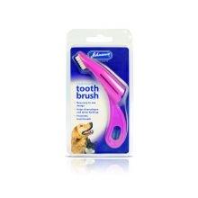 Johnsons Vet NEUF Brosse à dents pour chien et chat