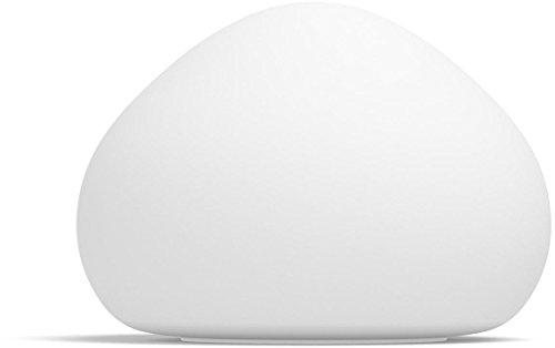 Philips Hue LED Tischleuchte Wellner inkl. Dimmschalter, alle Weißschattierungen, steuerbar auch via App, Glas, weiß, 4440156P7
