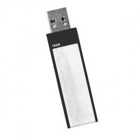 Ativa USB Stick, 16 GB, USB 2.0, Silber, Schwarz (Ativa Usb)