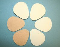 10159 Pedi-pads Large 1/8 Felt #106lg 100/Pack Part# 10159 by Aetna Felt Corporation Qty of by The Aetna Felt Corporation Incorporated