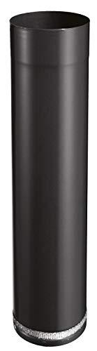 ISOTIP-JONCOUX 950026 Rallonge Teles. 500 Email 0.7, Noir, Diamètre 125