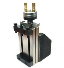 Al Tool Post Mini-Vertikalschlitten (90 x 50 mm) zum sofortigen Fräsen auf Drehmaschinen