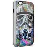 Star Wars Stormtrooper Coque pour iPhone 6/6S Plus Style Pop Art Blanc