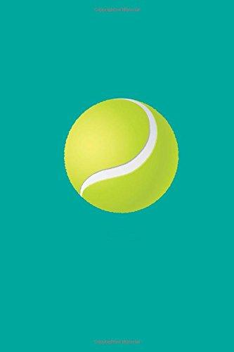 Tennis Ball Blank Paperback Journal 6 x 9 por Varsity Books