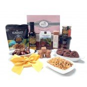 Cookies & Fudge Hamper - with Zaytoun Virgin oil and filled dates (All Halal products) Perfect Mother's Day Gift