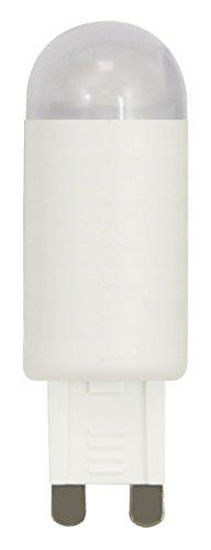 XQ-lite XQ13159 LED Leuchtmittel G9 [1,9 Watt setzt 20 Watt], 150 Lumen / warm, Einzeln, weiß