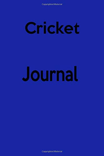 Cricket Journal: Keep track of your cricket matches por Lawrence Westfall