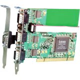 Brainboxes RS232 3 Port PCI Serial Port Card