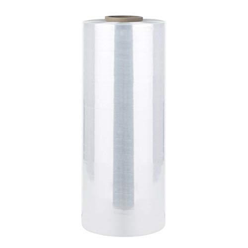 Rubyz Palettenpackung Kunststofffolie/Gipsmaschine, Stretchfolie, transparent/Kunststoff, maschinengeeignet, für Umzug, Packung, Aufbewahrung, 50 cm x 20 Mikron/13 kg, Pack of 1