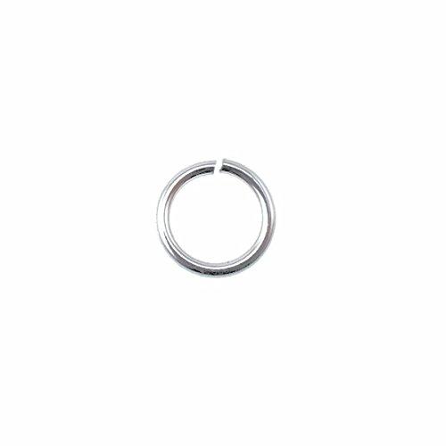 Argent sterling – 7 mm Jump Ring (0.6 mm de diamètre) – 10pk