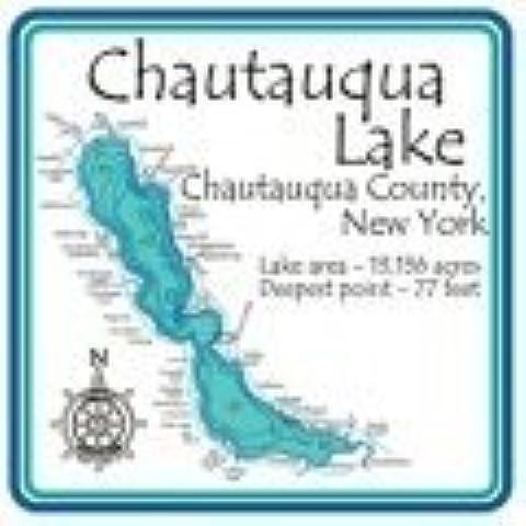 Chautauqua 4.25 Square Absorbent Coaster by CoasterStone