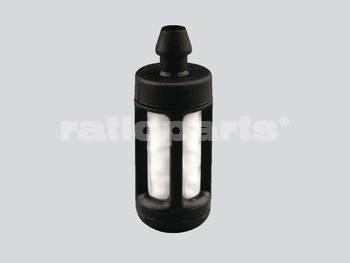 Ratioparts Kraftstofffilter Durchmesser 6,3 mm Saugkopf Porex-Gaze, schwarz weiß