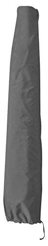 greemotion Housse de Protection pour Parasol Ø 300 cm, Bâche pour Parasol en Polyester Résistant aux Intempéries, Protection pour Parasol Droit avec Fermeture Éclair