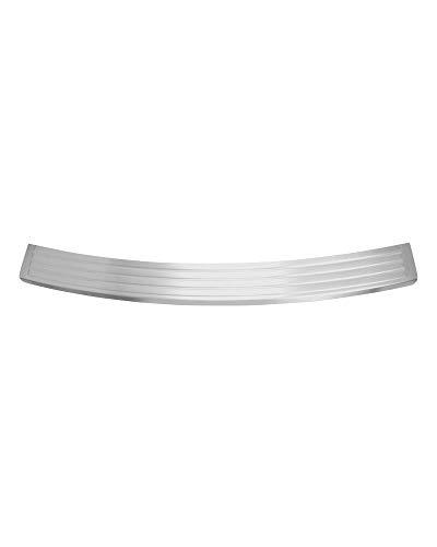LLHAI Kompatibel Stahl-Tür-Schwellen-Verschleiss-Platte Auto-hintere Stoßdämpfer-Schutz-Schutzplatte Pedal Mit Jeep Grand Cherokee 2011-2016 Autozubehör,Silber