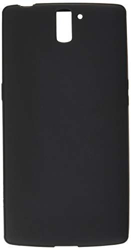 Diztronic OPO-FM-BLK Vollmatte flexible TPU Schutzhülle für OnePlus One schwarz