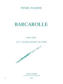 Barcarolle pour Flûte avec accompagnement de Pian...