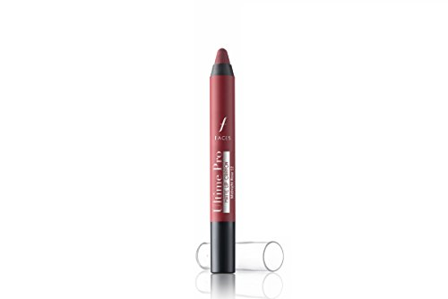 Faces Ultime Pro Matte Lip Crayon,MidnightRose 12, 2.8g with Free Sharpener