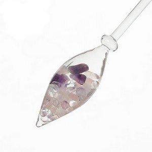 Vitajuwel Wellnes Grundmischung (Rosenquarz - Amethyst - Bergkristall)