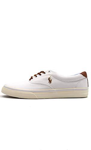 Ralph Lauren Herren Weiß Thorton Sneakers-UK 10