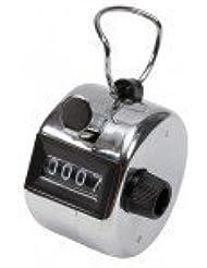 Compteur d'impulsions mécanique comptage manuel à touche 4 chiffres métal