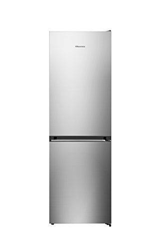 Hisense RB400N4EG3 Kühl-Gefrier-Kombination/A+++/No-Frost/Invertermotor/Türanschlag rechts, wechselbar/edelstahl-Look