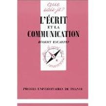 L' écrit et la communication