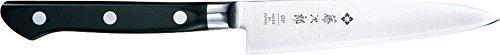 Tojiro Messer - japanische 3 Lagen Messer 3HQ - Pettymesser bzw. Universalmesser PROFI - Klinge 12 cm - Edelstahlzwinge - 801
