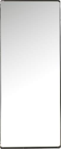 Kare Design Spiegel Ombra Soft, schwarz, moderner Wandspiegel, Edler Badspiegel, großer rechteckiger Schminkspiegel, (H/B/T) 200x80x5cm