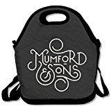 100% Polyester Mumford & Sons Logo Multifunction Reusable Snack bag(Zaini) Handbag(Zaini) Lunch Tote