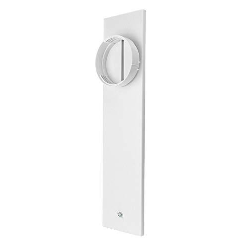 TPulling Fensterabdichtung für Mobile Klimageräte, Abgasschlauch Fenster-Adapter-Rohrverbinder Für Abluftschlauch-Kit Für Tragbare Klimaanlagen (Weiß)