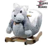TORRO 3199902534–Super Cute Baby Rocking Horse Schnauzer Music & Seat