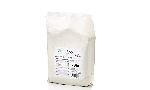 Almidón de tapioca de origen ecológico certificado sin gluten