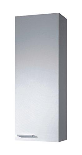 Arkitmobel Koncept - Columna de baño, 85 x 30 x 25 cm, color blanco brillo