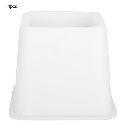 Wytino Bettstuhl-Aufstehhilfen, verstellbare Möbel-Aufstehhilfen mit schwach grünem Licht zum Aufrichten des Bettsofas, 4-Zoll-Höhe für die Aufbewahrung unter dem Bett im 4er-Pack -