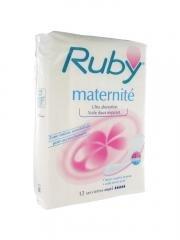 Ruby Child Birth Sanitary Napkins x12