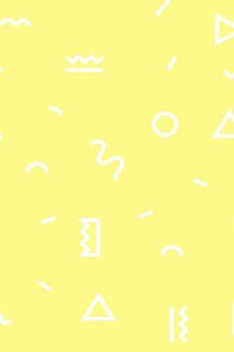 Minimalist Retro Seamless Design Journal: Laser Lemon