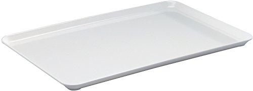 Thekenplatten / Auslegeschale, Melamin weiß | Gr. 42 cm x 28 cm