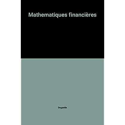 Mathematiques financières