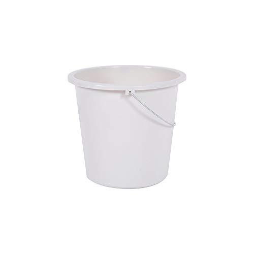 Eimer für Haushalt, 28 cm, 10 l, Weiß gekalkt