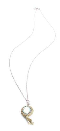 Exoal Collier Medaillon Exterior Silber