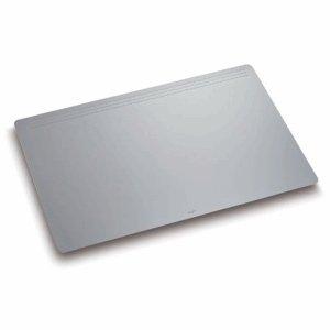Läufer 32703 Matton Schreibtischunterlage 49x70 cm, grau, rutschfeste Schreibunterlage für besonders hohen Schreibkomfort, hochwertiger Vlies auf der Rückseite (Grau Schreibunterlage)