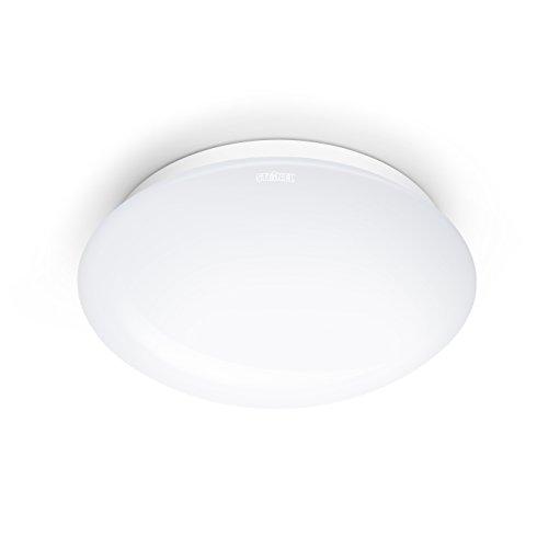 Steinel Plafonnier RS 16 L avec détecteur de mouvement 3-8 m ampoule E27 - Applique murale avec capteur de présence 360° - Luminaire intérieure automatique