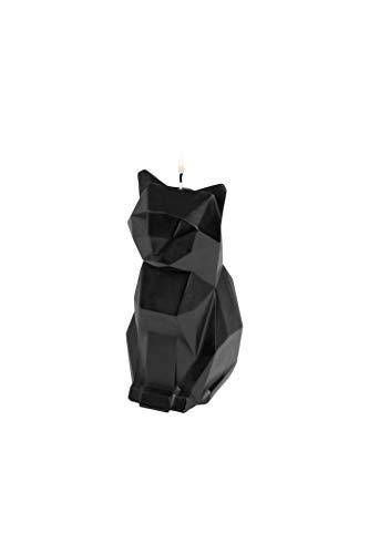 Pyro Pet Kerze Katze ,,Kisa' - Schwarz -